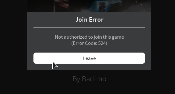 ROBLOXCRITICAL] Users are unable to join existing/new servers on