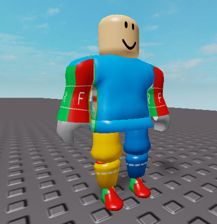 Help With Adding Roblox Clothing To Custom Made Body Parts For A