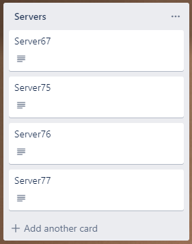 How Would I Remove A Game From A Server List Trello Api