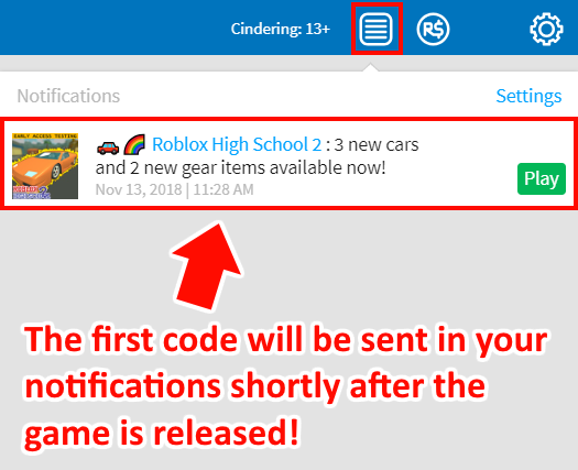 Roblox High School 2 Release Date Announcement Bulletin Board